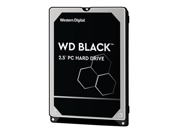 WD Black 500GB Performance Mobile Hard Drive - 7200RPM SATA 6Gb/s 32MB Cache 2.5""