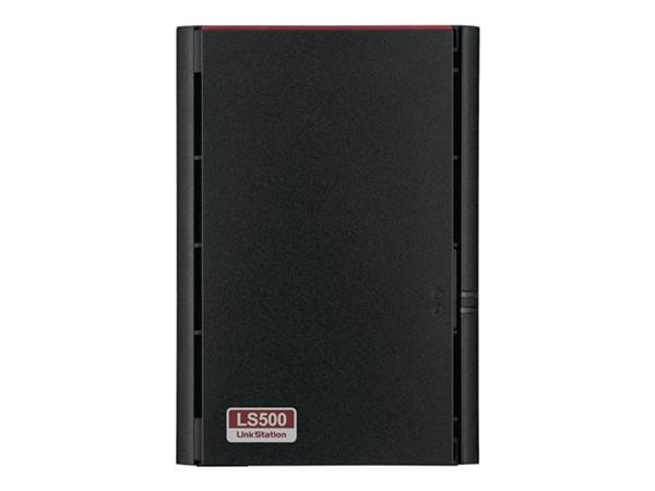 Buffalo LinkStation 520 NAS 6TB (2x3TB) 2-bay High Speed NAS