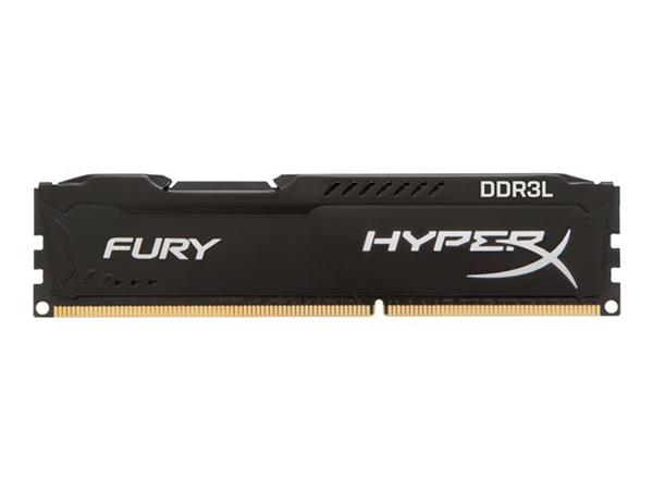 HyperX FURY Black 4GB DDR3L 1600MHz CL10 DIMM Memory