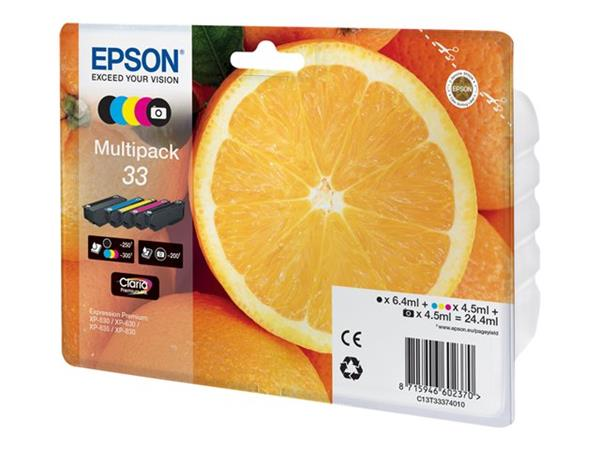 Epson XP530/630/635/830 5CLR Multipack