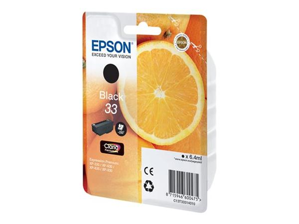 Epson XP530/630/635/830 Black Ink Cartridge