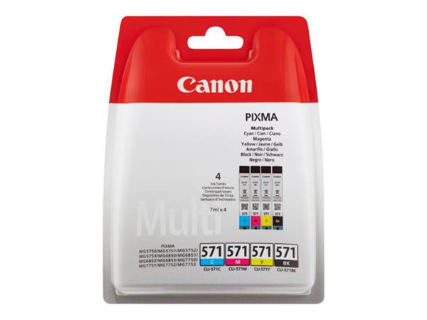 Canon CLI571 Multipack Ink