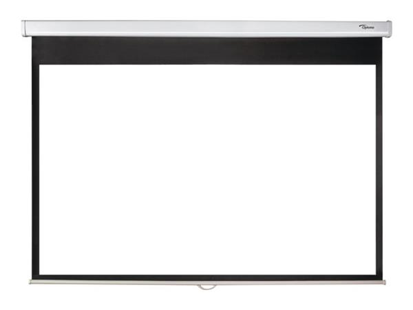 "Optoma PMG+ - Projection screen 109"" (177 cm) 16:10 Matte White"