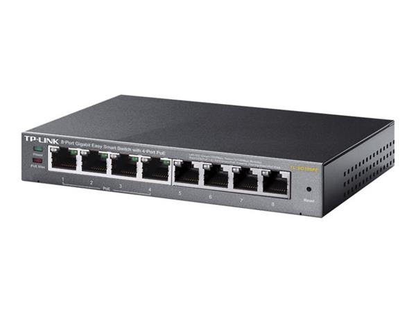 TP LINK 8-Port Gigabit Easy Smart Switch with 4-Port PoE