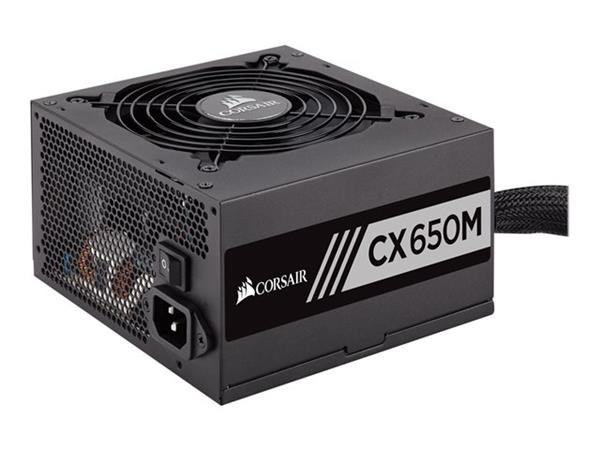 Corsair CX650M CX Series 650W Semi Modular 80Plus Bronze ATX PSU