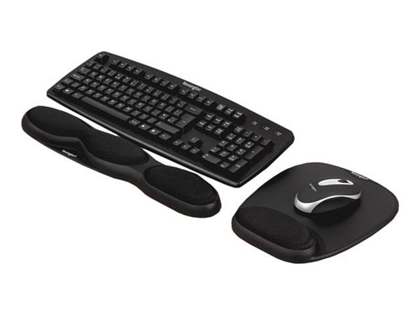 Kensington Kensington Comfort Gel Keyboard Wrist Rest - Black