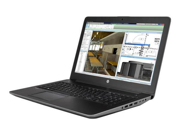 HP Zbook 15 Intel Core i7-6700HQ 500GB 8GB Win 10 pro