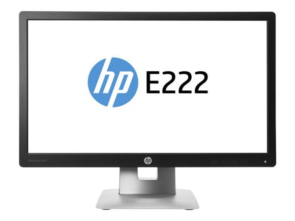"HP EliteDisplay E222 LED 21.5"" Monitor 1920x1080 7MS"