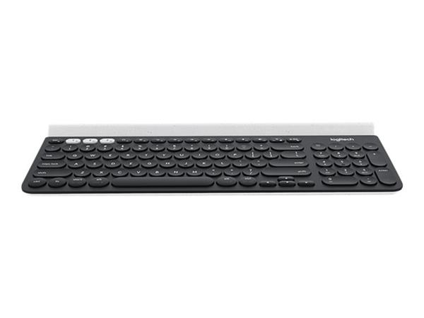 Logitech K780 Multi-Device Keyboard Bluetooth, 2.4 GHz UK English