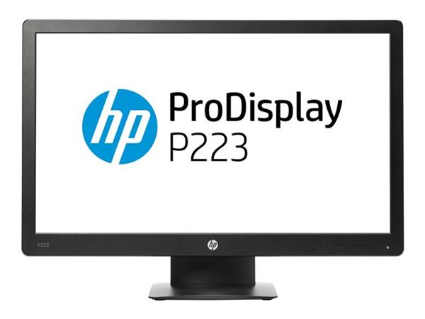 "HP ProDisplay P223 1920 x 1080 5ms  VGA DP LED 21.5"" Monitor"