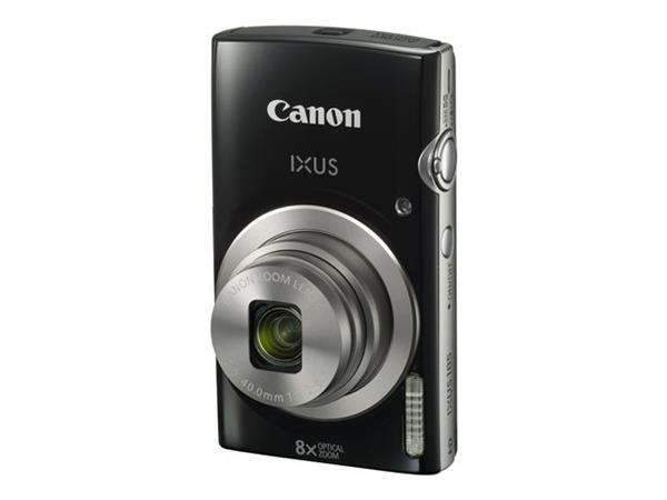 Canon Canon IXUS 185 Camera Black 20MP 8x Zoom HD