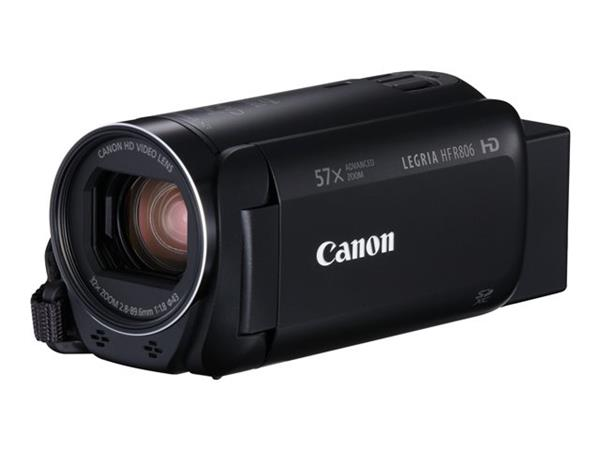 Canon Legria HF R806 Camcorder Kit inc 32GB SD Card and Case - Bla