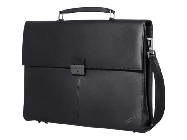 "Lenovo ThinkPad Executive Leather Case 14.1"" - Black"
