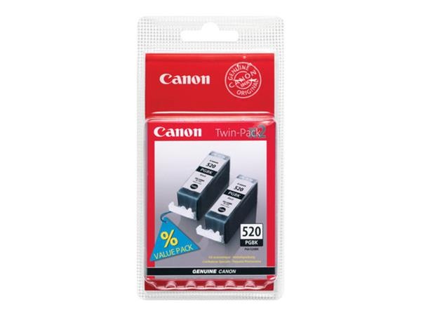 Canon PGI-520 Black Twin Pack Blister