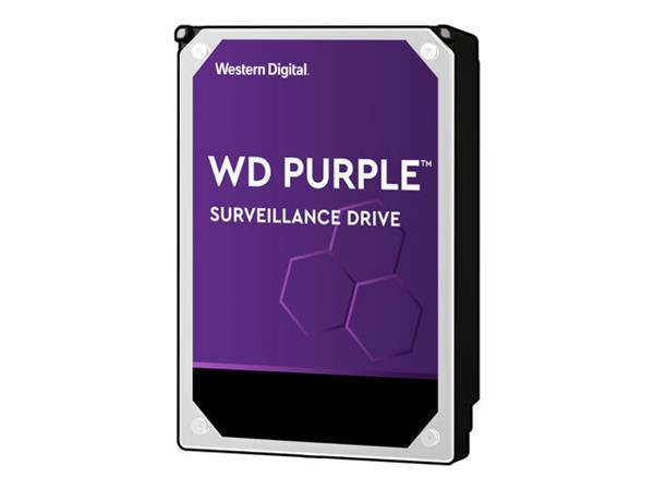 "WD 6TB Purple 3.5"" SATA 6Gb/s 5400RPM 64MB Surveillance Drive"