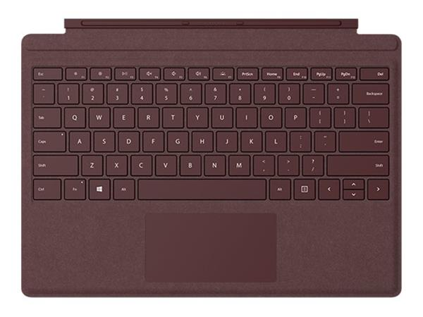 Microsoft New Surface Pro Type Cover - Burgundy