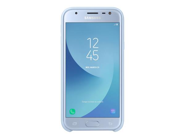 Samsung J3-17 Dual Layer Cover Blue