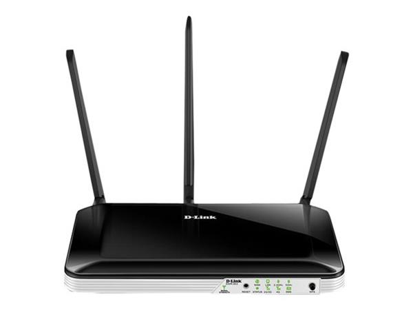 D-Link Wireless 4G router - WWAN - 4 port switch - 802.11b/g/n/ac