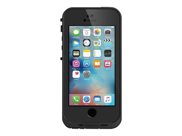 OtterBox LifeProof FRE for Apple iPhone 5/5s/SE - Black