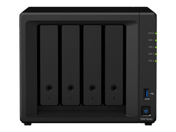 Synology DS418Play 4 Bay Diskless NAS