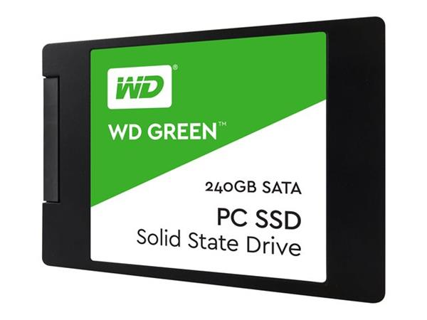 "WD 240GB Green 2.5"" SATA 6Gb/s SSD"