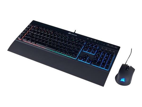 Corsair K55 + Harpoon RGB Gaming Keyboard/Mouse Combo