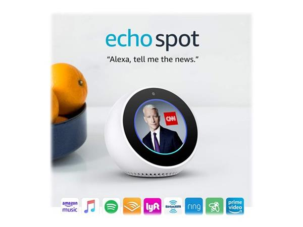 Amazon Echo Spot White