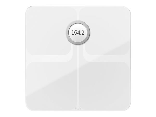 Fitbit Aria 2 WiFi Smart Scale - White