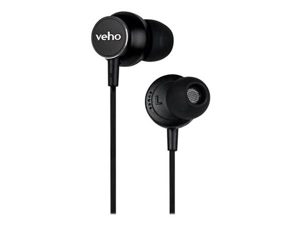 Veho Z-3 In-Ear Stereo Headphones with Built-in Microphone