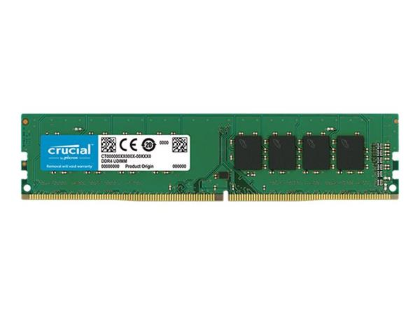 Crucial 8GB DDR4 2666 MT/s (PC4-21300) CL19 SR x8 Unbuffered DIMM 28