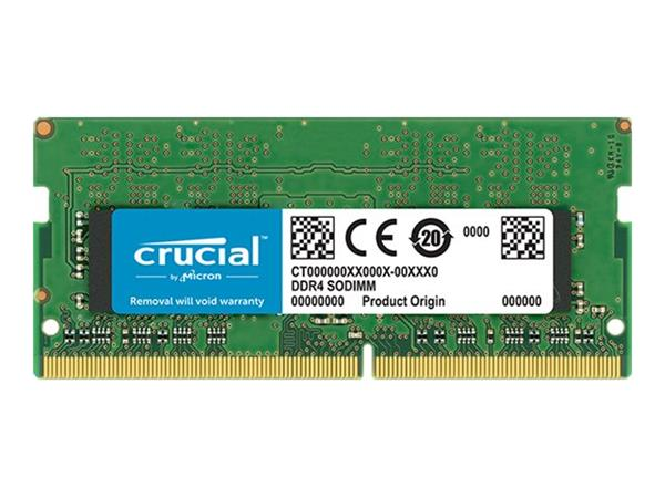 Crucial 8GB DDR4 2666 MT/s (PC4-21300) CL19 SR x8 Unbuffered SODIMM