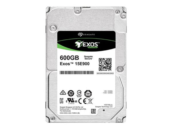 "Seagate Exos 600GB E-Class Mission Critical SAS 2.5"" 15K 512"