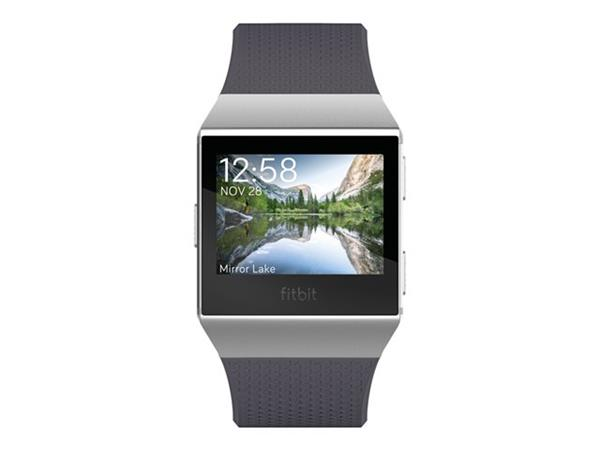 Fitbit Ionic Smart Fitness Watch - Blue-grey / White