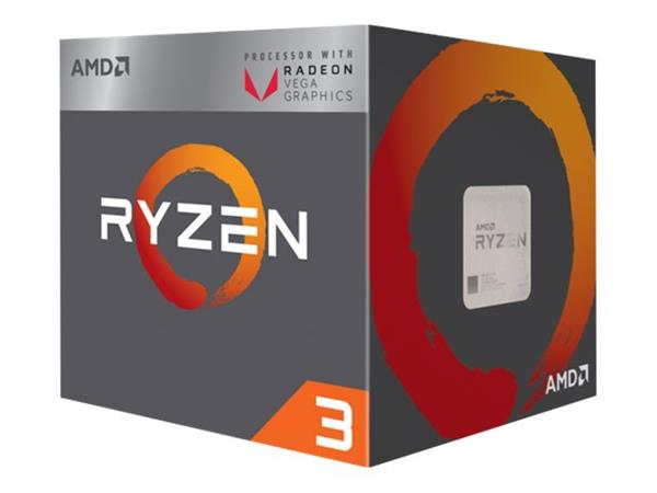 AMD Ryzen 3 2200G - 3.5 GHz 4 cores 4 threads 2 MB cache