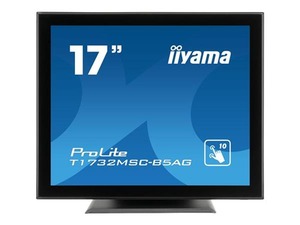 "iiyama ProLite T1732MSC-B5AG 17"" 1280x1024 5ms HDMI VGA DisplayPort LED Monitor"