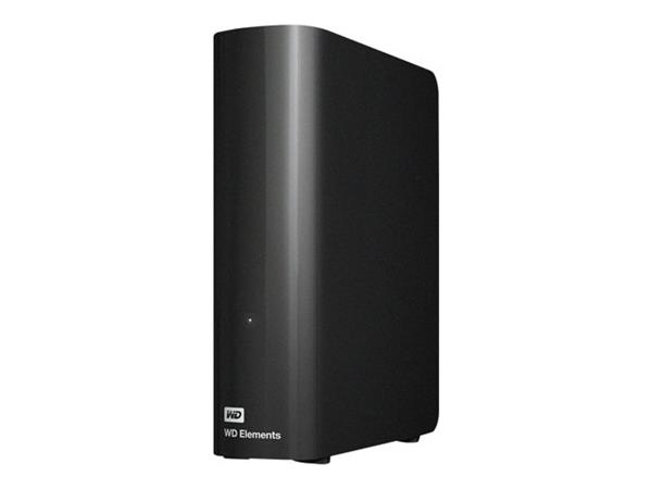 WD 6TB Elements Desktop Hard Drive Black