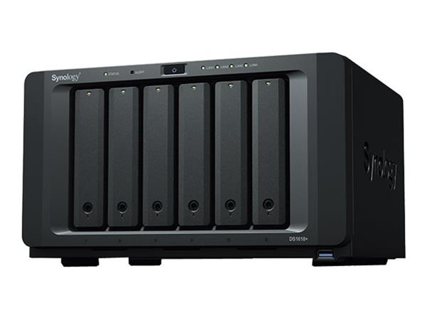 Synology DS1618+/60TB-IWPRO (6 x 10TB) 6 Bay NAS