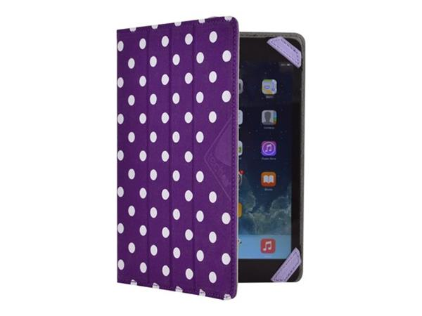 "Techair Flip and Reverse Universal 7"" Tablet Case - Purple"
