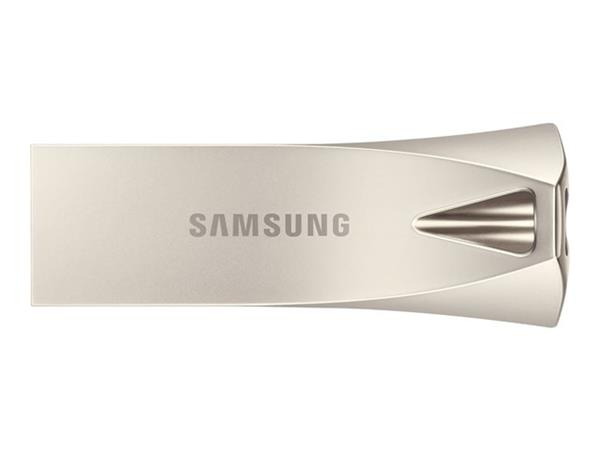 Samsung 256GB Bar Plus USB 3.1 Drive - Champagne Silver