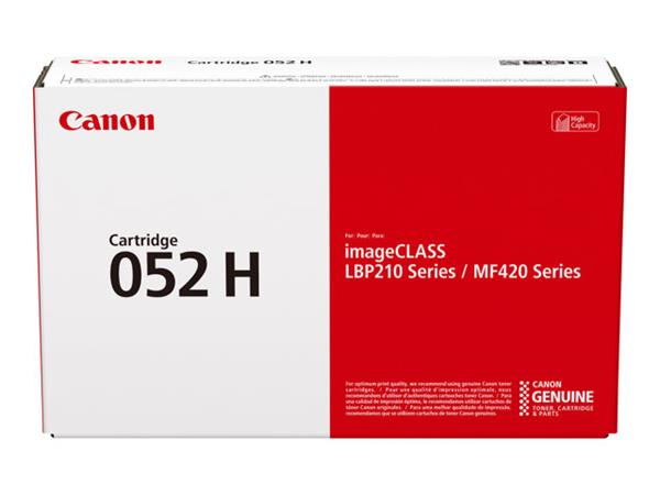 Canon 052H High Yield Black Toner Cartridge