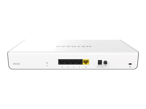 NETGEAR Insight BR500 - Router - 4-port switch - GigE