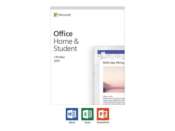 Microsoft Office Home & Student 2019 - Box Pack