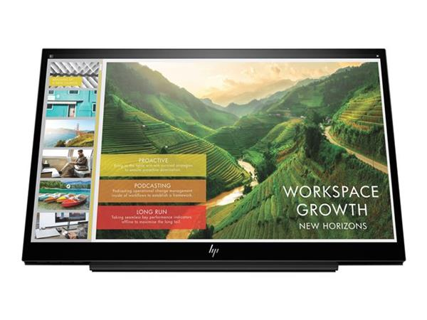 "HP EliteDisplay S14 14"" 1920x1080 5ms LED Portable Monitor"