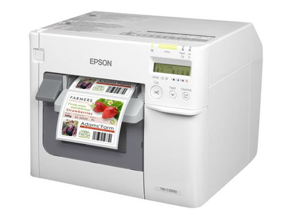 Epson TM-C3500 Colour Ink-Jet Label Printer