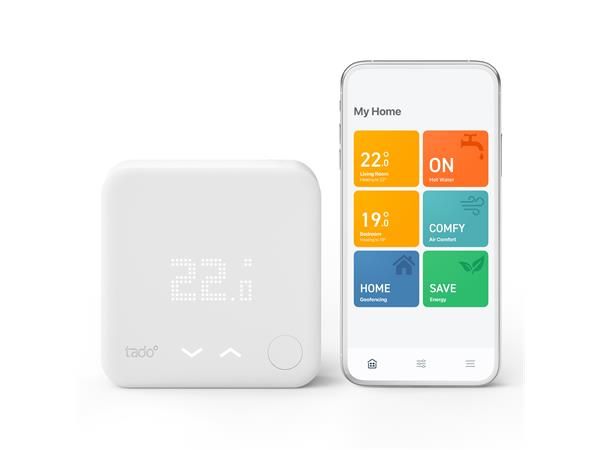 tado Starter Kit - Wireless Smart Thermostat V3+