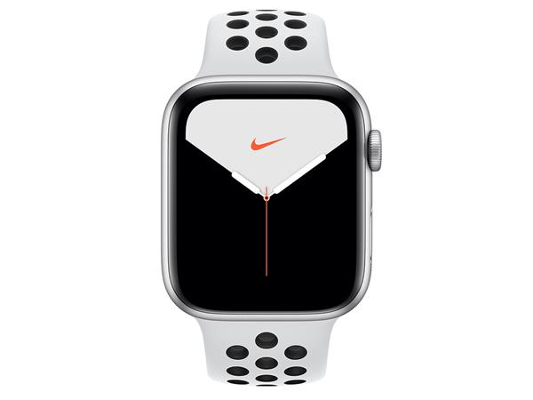 best deals on los angeles united kingdom Apple Watch Nike Series 5 GPS, 44mm Silver Aluminium Case with Pure  Platinum/Black Nike Sport Band