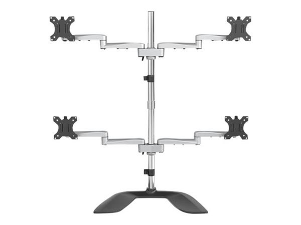 "StarTech.com Quad-Monitor Stand - For up to 32"" VESA Mount Monitors"