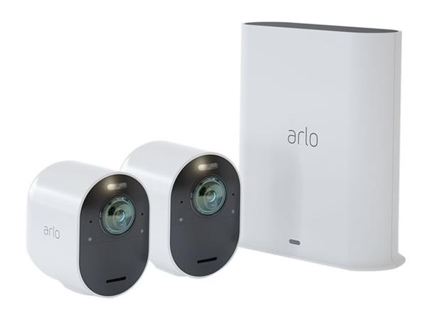Arlo Ultra 4K UHD HDR Wire-Free Security 2-Camera System
