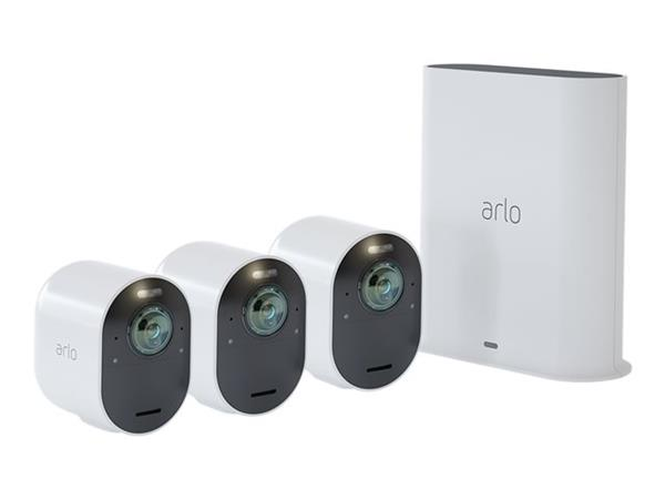 Arlo Ultra 4K UHD HDR Wire-Free Security 3-Camera System