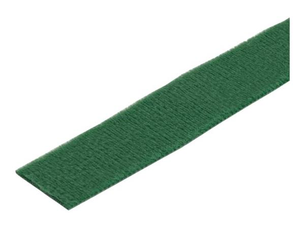 StarTech.com 50ft. Hook and Loop Roll - Green - Reusable